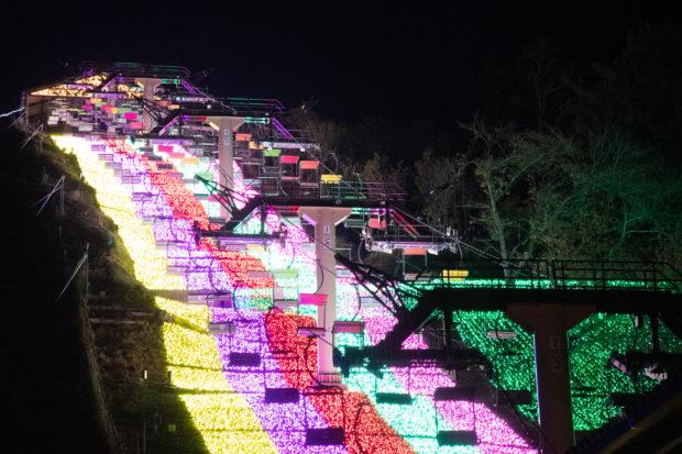 600万球、光の祭典「さがみ湖イルミリオン2019」さがみ湖リゾートプレジャーフォレスト
