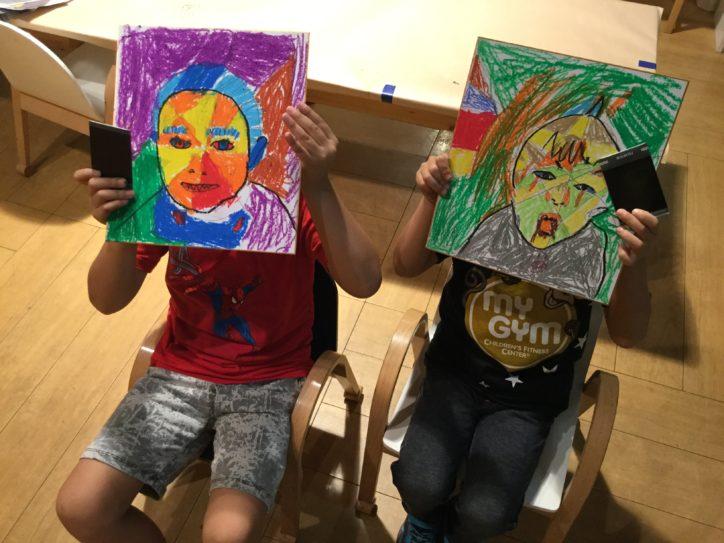 県立辻堂海浜公園でお絵かきや工作などで身につく「3歳からの子ども英語アート」