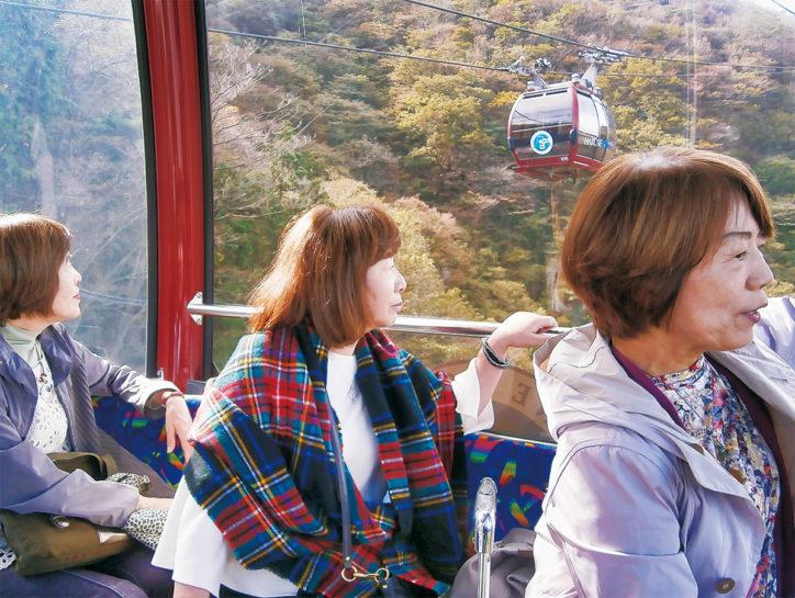 <2019年10月26日>箱根ロープウェイ 5カ月ぶりに全線運行再開!