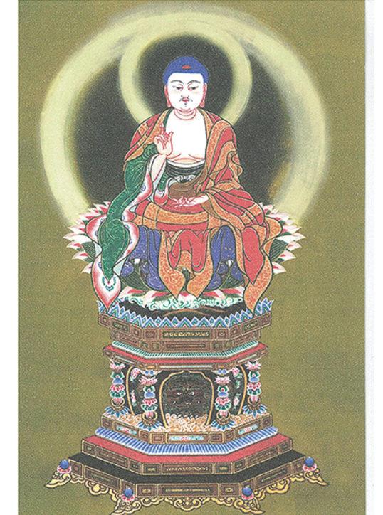 鎌倉で仏画師の寺田しのぶさん「仏鏡画展」