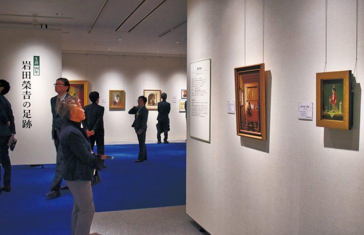 横浜本牧絵画館で本牧ゆかりの画家・岩田榮吉の生誕90年を記念し「足跡を辿る展覧会」