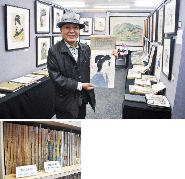 鏑木清方らの作品80点展示中 八王子・甲州街道沿い「茶論DO神邊」