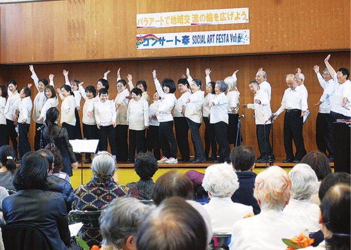 川崎授産学園でコンサート「奏(かなで)」コーラス隊や管弦楽にフルート演奏など