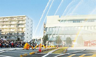 「栄区消防出初式」栄公会堂・栄区役所駐車場