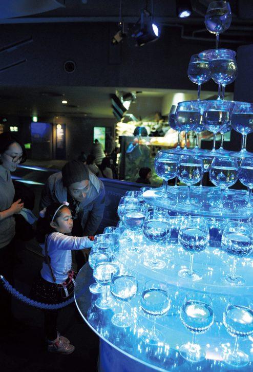 あ、クラゲだ!!「ヒカリノエノスイ〜美しい水族館2019」新江ノ島水族館にて