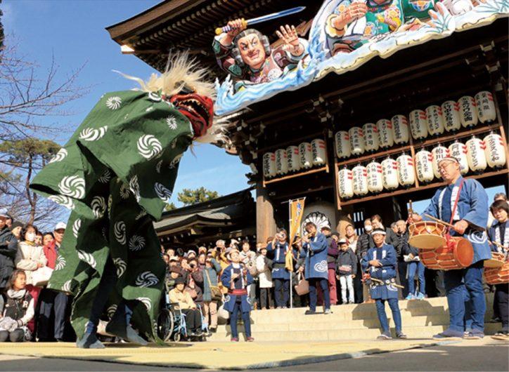 「無病息災」の願いをこめて獅子舞巡る2020年1月6日(月)【寒川町】