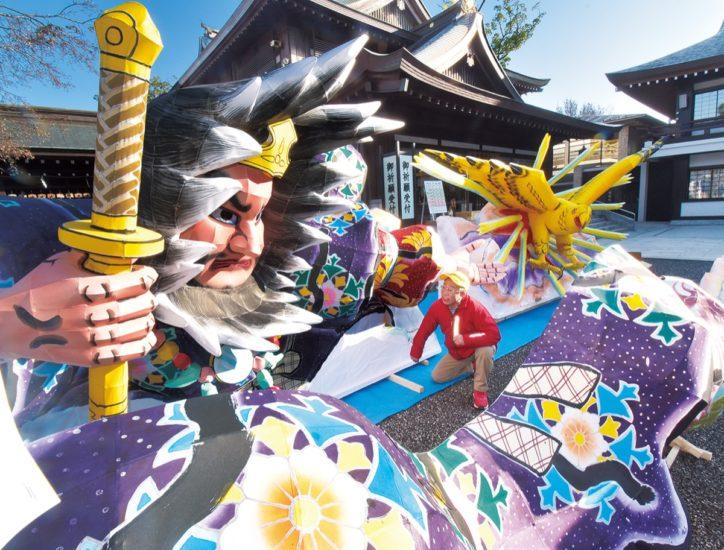 七草がゆの翌日は寒川神社の「武佐弓祭(むさゆみさい)」で厄を吹き飛ばし一年を占う