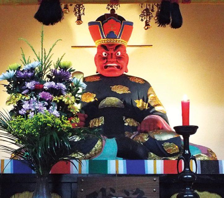 おえんまさまを特別公開「閻魔大王像と地獄極楽変相図」閻魔寺として知られる川崎一行寺で