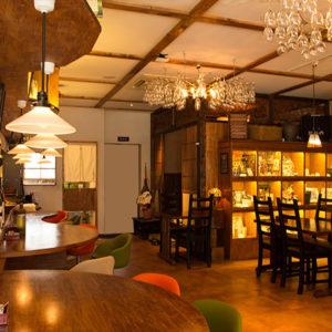 熟成から揚げをご注文で1個増量:ハダノ浪漫食堂/はだのにぎわいランチフェスティバル