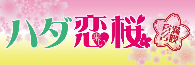 ハダ恋桜_バナー