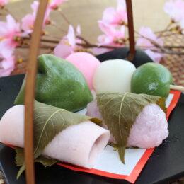 秦野の桜を満喫「春の和菓子フェア」季節感じるお菓子を/八雲庵(秦野市)