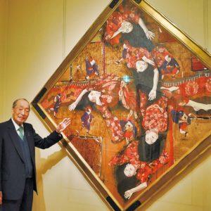 洋画家・智内兄助傑作8作品を展示【八王子市 村内美術館】
