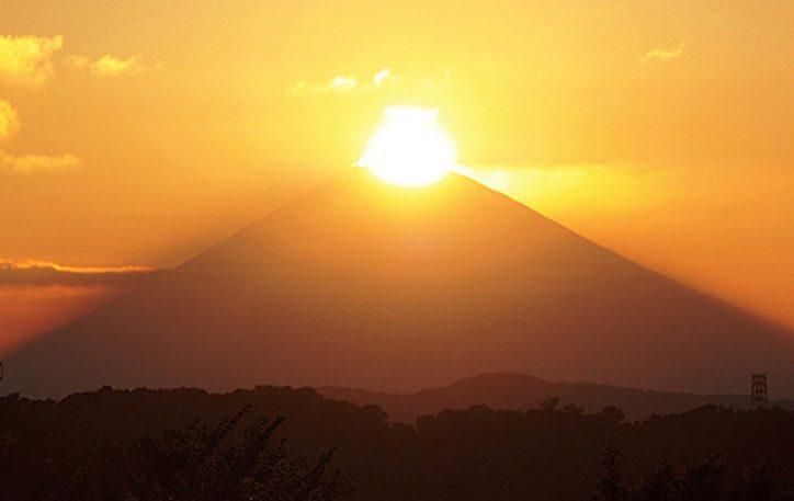 関東の富士見百景できらめくダイヤモンド富士を見られるチャンス【大磯町・二宮町・中井町】