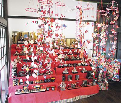 里山公園で桃の節句、雛飾り展示は3月20日まで【茅ヶ崎市】