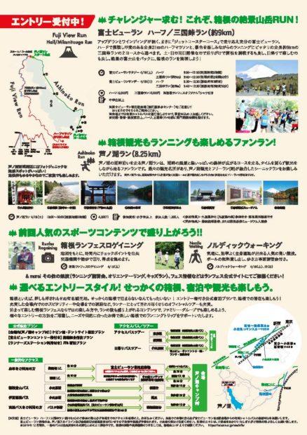 【開催中止】楽しさを競おう「HAKONE RUN FES(箱根ランフェス)2020」