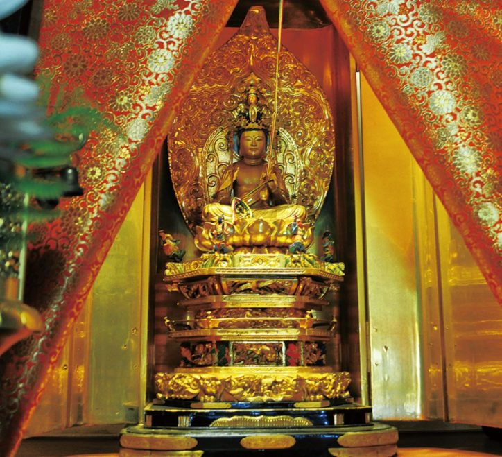 町田の福寿院で唯一子年だけ開帳される観音菩薩