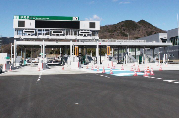 新東名 伊勢原大山IC 3月7日開通  伊勢原市内に新たな「玄関口」