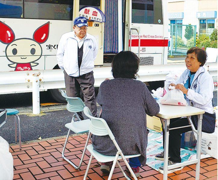 献血活動<3月14日@イトーヨーカドー大船店前>午前と午後の2回