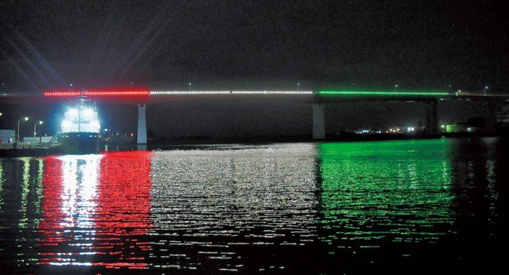 安房埼灯台の完成・通行無料化記念して「城ヶ島大橋」ライトアップ!【横須賀市】