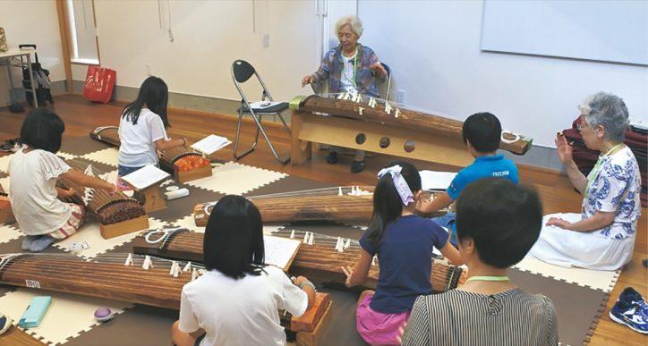 川崎・麻生市民館で「お箏・尺八教室体験会」まずは一度見学に