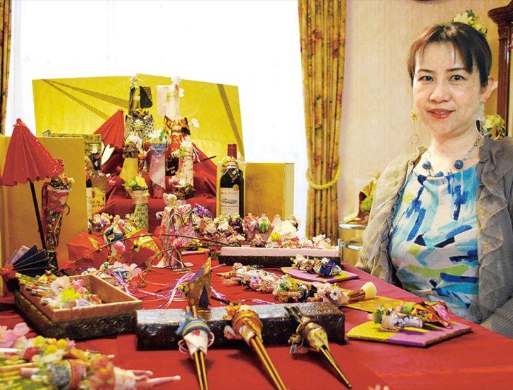 横浜・青葉区藤が丘在住・ 星野久美さん考案 「着物ドールリウム」世界へ