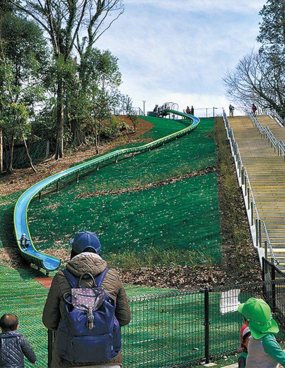 全長45mの大滑り台が誕生!<東京都町田市芹ヶ谷公園>