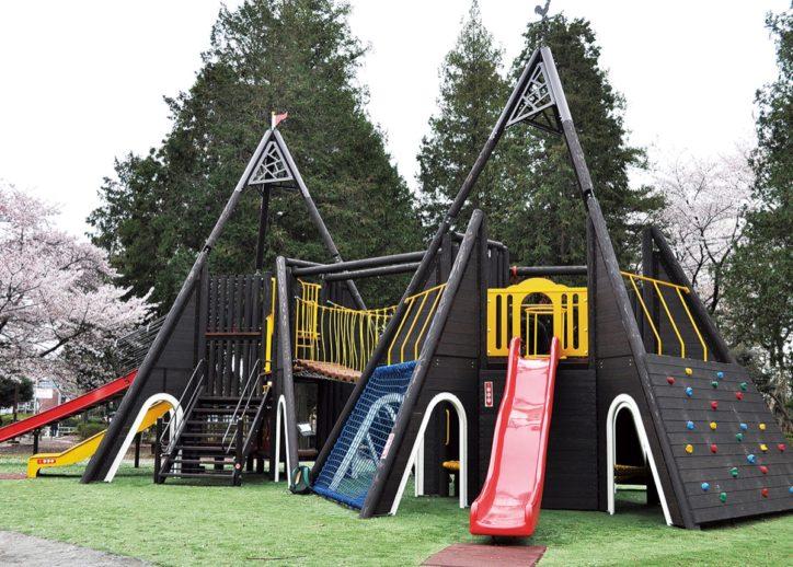 遊び方は無限大!相模原・淵野辺公園の大型木製複合遊具がリニューアル