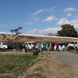 「レンゲまつり」でお馴染みの「伊勢原市大田地区土地改良区」が農業用のドローンを活用するなど先進的な取り組み