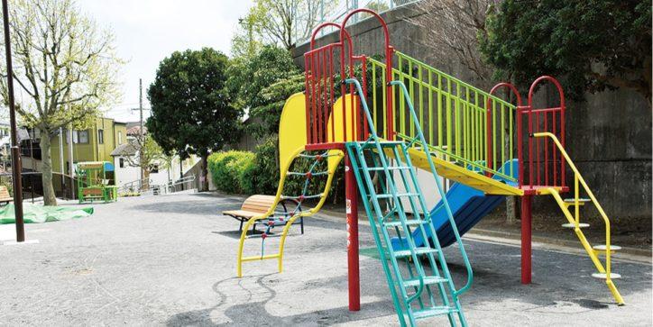 横浜・神奈川区の松見町が3公園を整備  遊具設置しバリアフリー化
