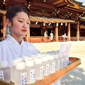 寒川神社でコロナ早期終息祈願に「御神水」ボトル用意で持ち帰りやすく