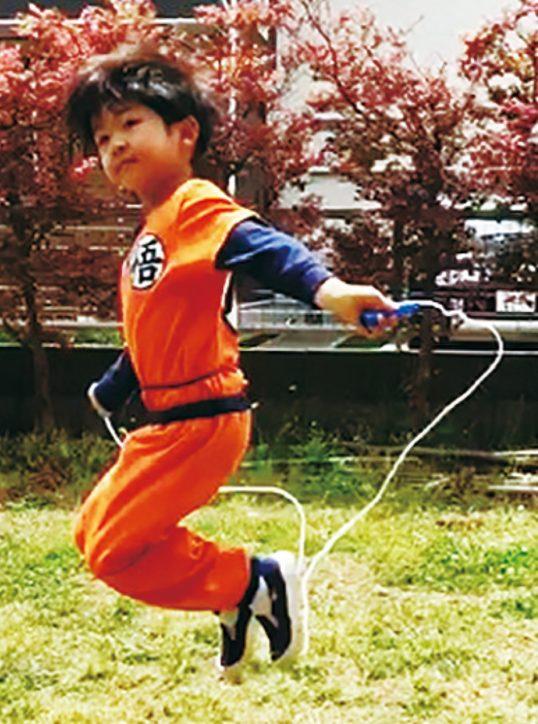 <縄跳び競争>小田原で「ジャンピングチャレンジ 第3弾」目標達成で賞品も