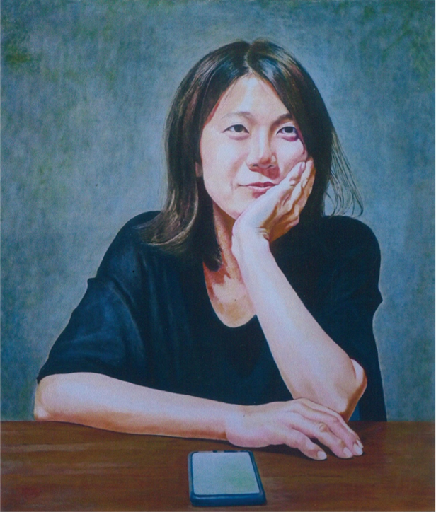 酒井茂さんの油絵作品展 @横浜そごう9階