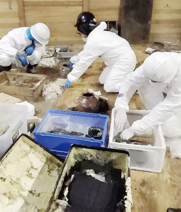 川崎市市民ミュージアム 収蔵品搬出、完了へ  修復作業は続くため開館は未定