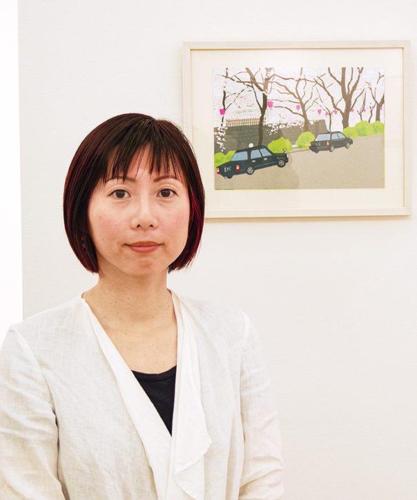 イラストレーターたなかきょおこ個展「エヴリデイ・エヴリナイト」小田原周辺の景色
