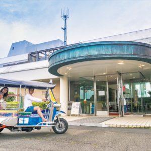 3輪自動車「トゥクトゥク」をレンタルして三浦半島満喫プラン誕生