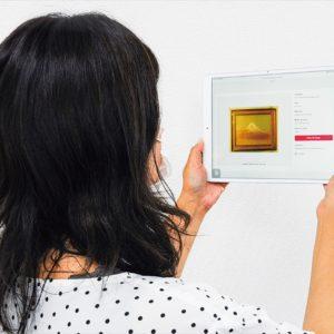 日本画家「安田靫彦」黄金色の富士山画 64年ぶりのお目見え