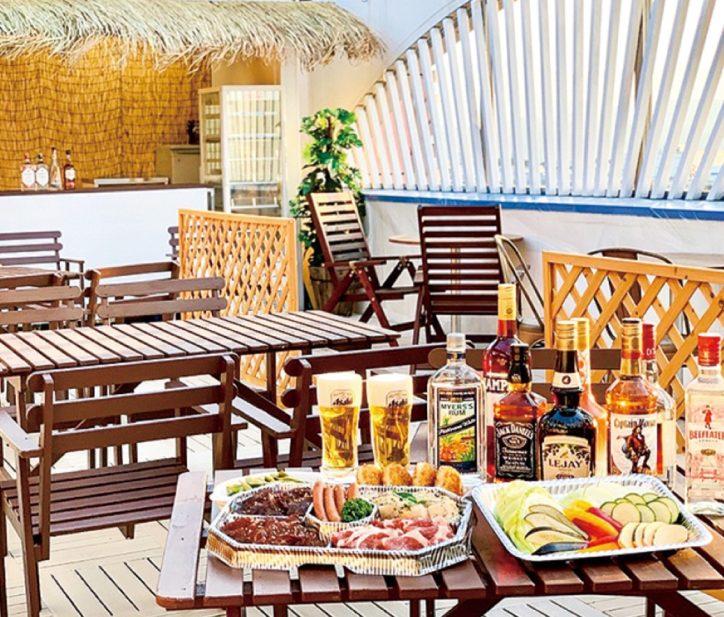 温浴施設・JNファミリー 人気の屋上テラスビアガーデンが7月17日にオープン【相模原市】