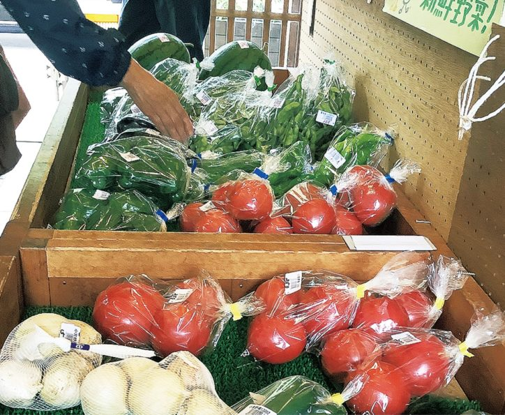 近隣農家が野菜を持ち寄り販売「小野路朝市」開催【小野路里山交流館】