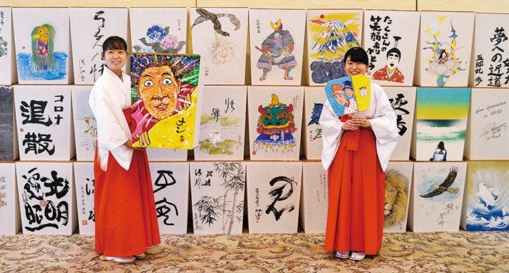 『ぼんぼり祭 』鎌倉の鶴岡八幡宮で開催中 大小約400基ズラリ8/9(日)まで