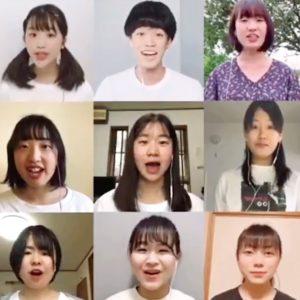 大船高校演劇部「リモート合唱」 中止公演の劇中歌3年生中心でネットに