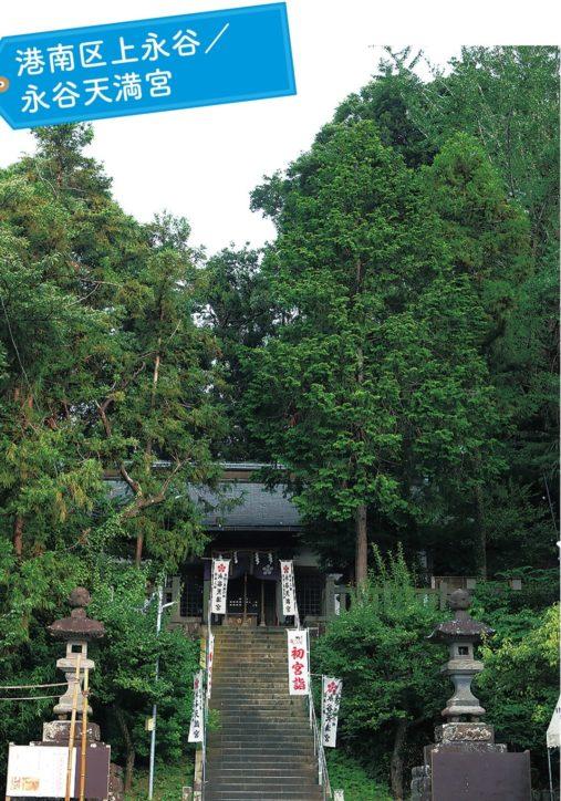 【写真で楽しむ横浜小旅行】港南区上永谷『永谷天満宮』