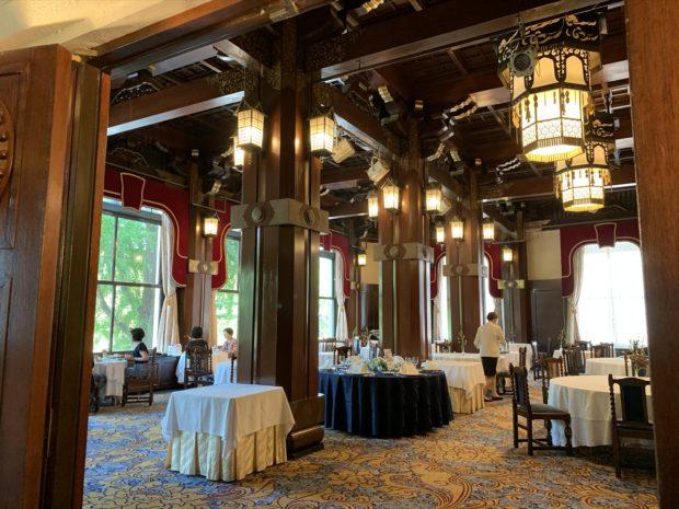 横浜のホテルニューグランド「フェニックスティールーム」お正月、8日間限定特別喫茶室
