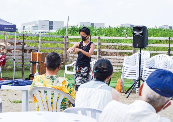 野外のメリット生かし大道芸「鎌倉Buskers Marche」次回は10月17日開催予定