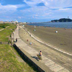 【歩いてみよう】湘南海岸公園で太陽と潮風あびる 東西1.8㎞をぶらり