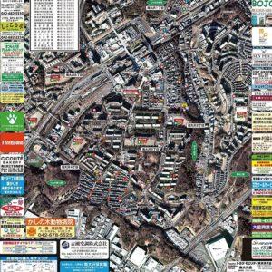 エリアを拡張して更新「八王子市・南大沢地区の防災マップ」配布中