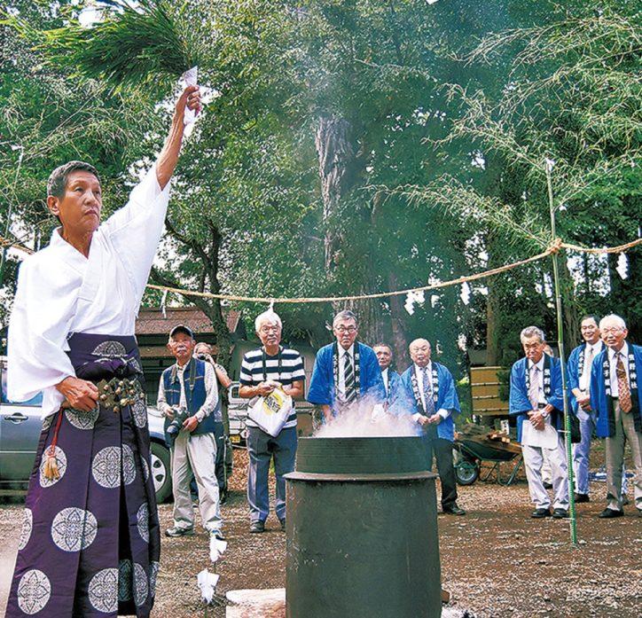 瀬谷区の熊野神社 例大祭 2020年は中止