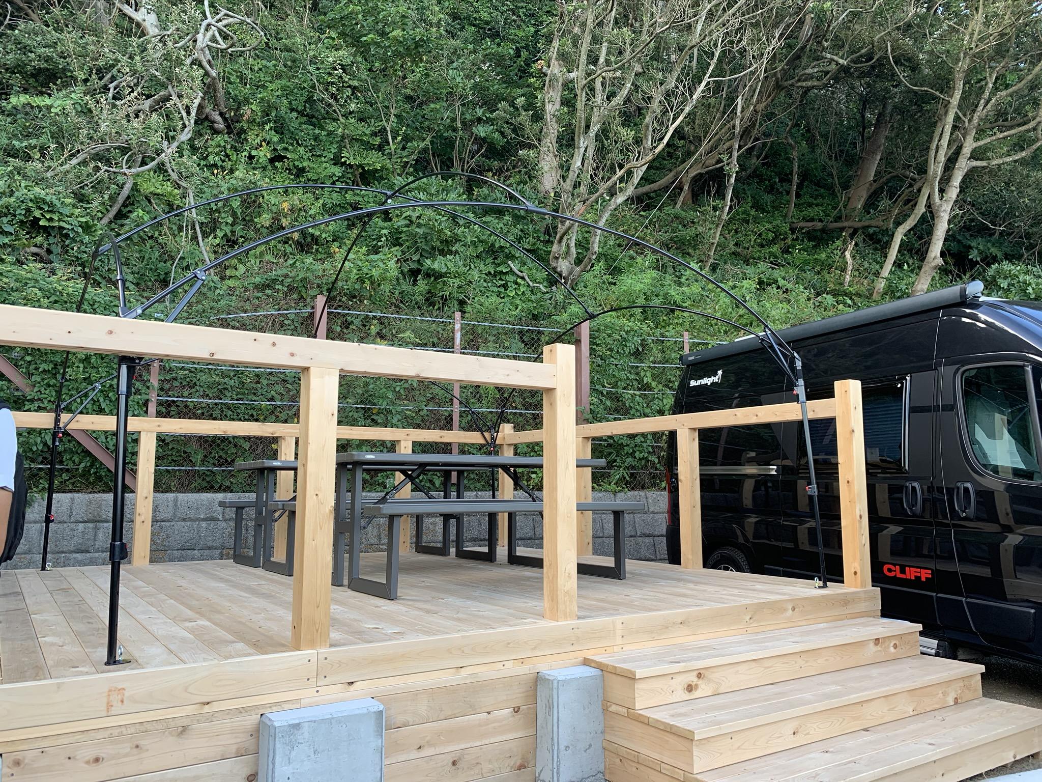 【内覧レポ】手ぶらでBBQ『ビーチパークリビング』が横須賀市観音崎に9月19日オープン