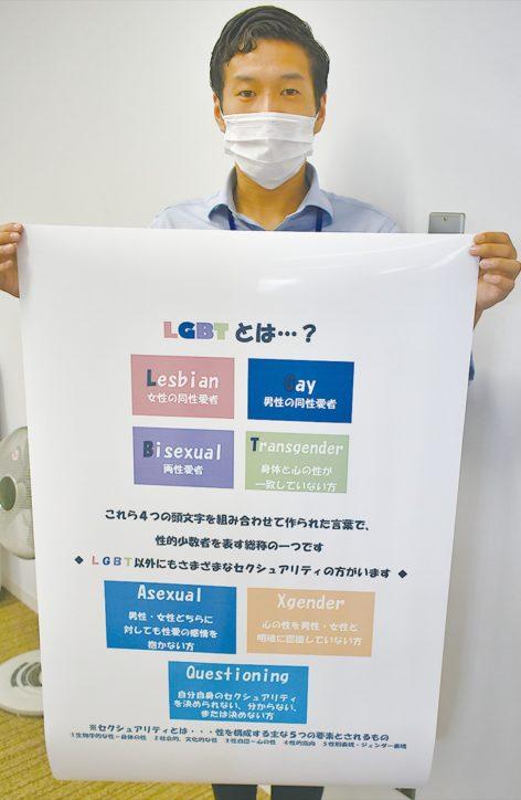 平塚市 「LGBTへの理解深めて」 ららぽーと湘南平塚でパネル展