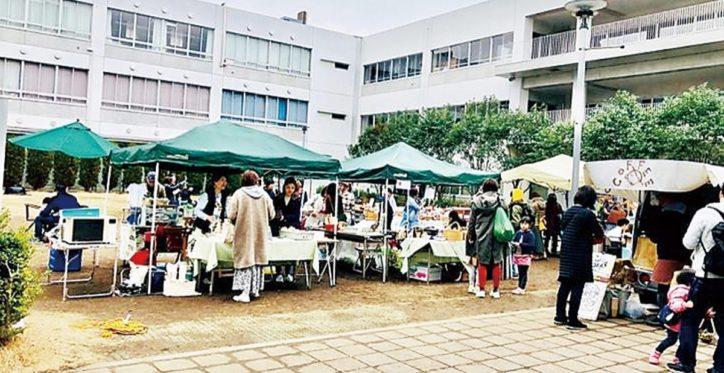 「逗子中庭カフェ」農産品など販売やワークショップなど【9月27日】