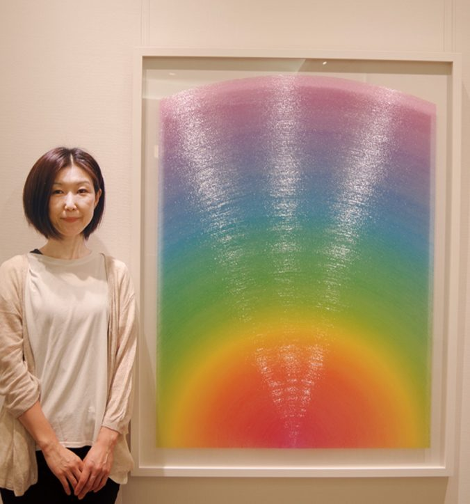 小田原で初開催!「石川美奈子さん個展」繊細な線で美を表現
